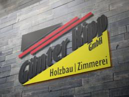Team Kipp Referenz Vorschaubild Logo Holzbau Günter Kipp