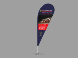 Team Kipp Referenz Vorschaubild Beachflag FFW Weilimdorf