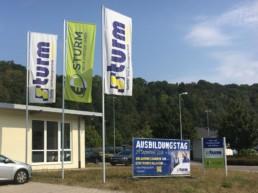 Team Kipp Referenz Vorschaubild Fahne Banner Schild Sturm Sulz