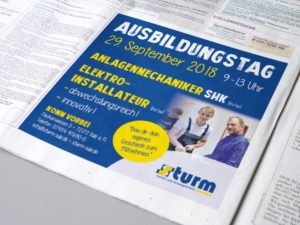 Team Kipp Referenz Beitragsbild Anzeige Azubi-Tag Sturm Sanitär- und Heizungstechnik