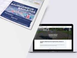 Team Kipp Referenz Vorschaubild Stellenanzeige und Webdesign Weisser Kernl
