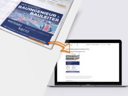 Team Kipp Referenz Beitragsbild Stellenanzeige und Webdesign Weisser Kernl