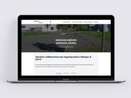Team Kipp Referenz Vorschaubild Webdesign Weisser Kernl